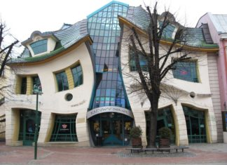 "Krzywy Domek (""Crooked House"") in Sopot, Poland"
