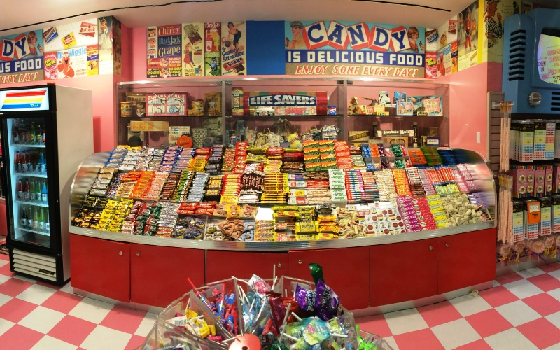 Dylan's Candy Bar display