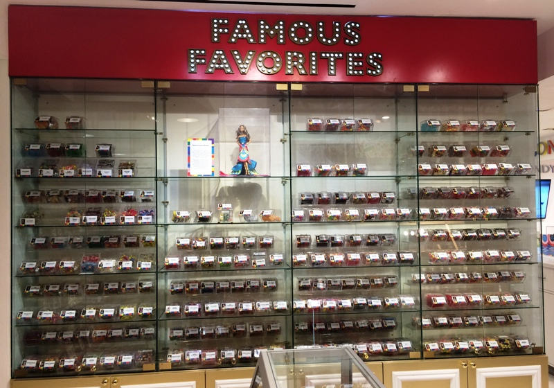Famous Favorites showcase