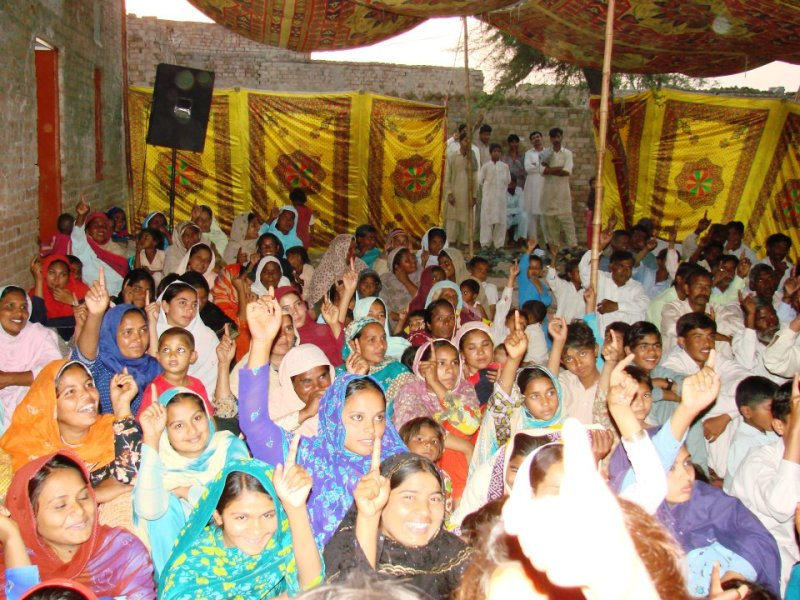 Christians in Lahore, Pakistan