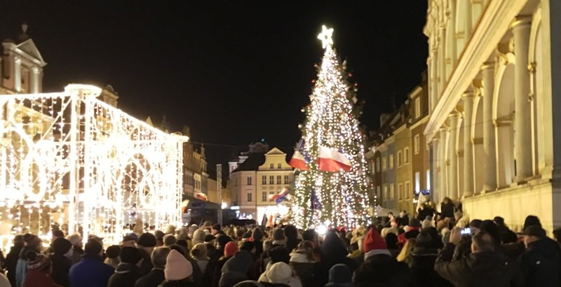 Poznan, Poland at Christmas